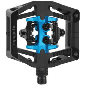 Xpedo GFX Neo Clipless Pedals, black/blue